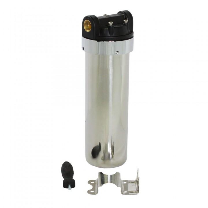 """ITA Filter Магистральный фильтр стальной 10"""" для очистки горячей воды"""