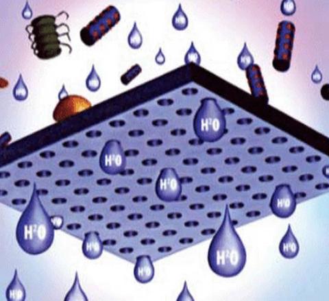 Обратный осмос задерживает 99 процентов загрязнений